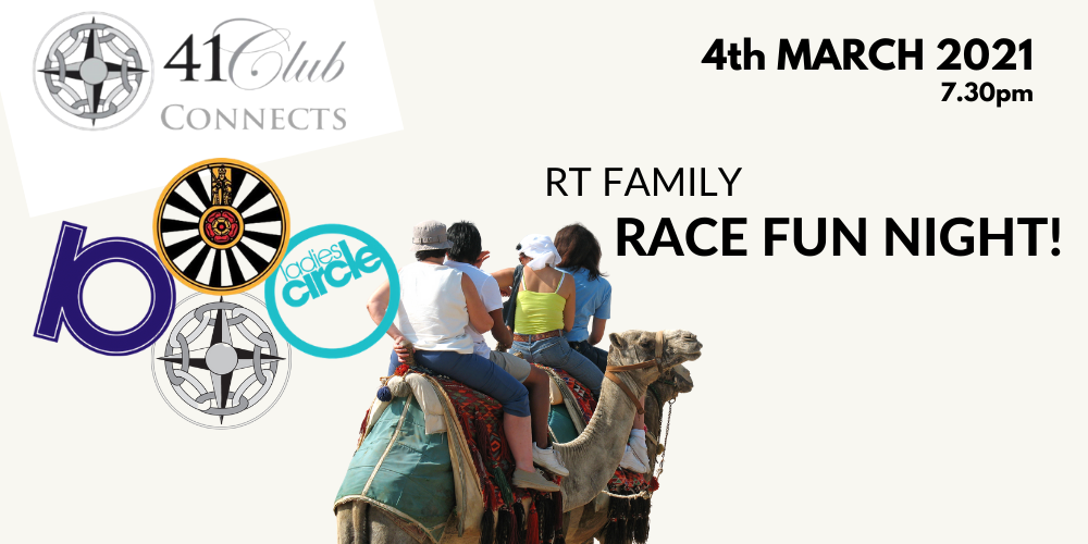 41 Club Connects with RT Family Race Night