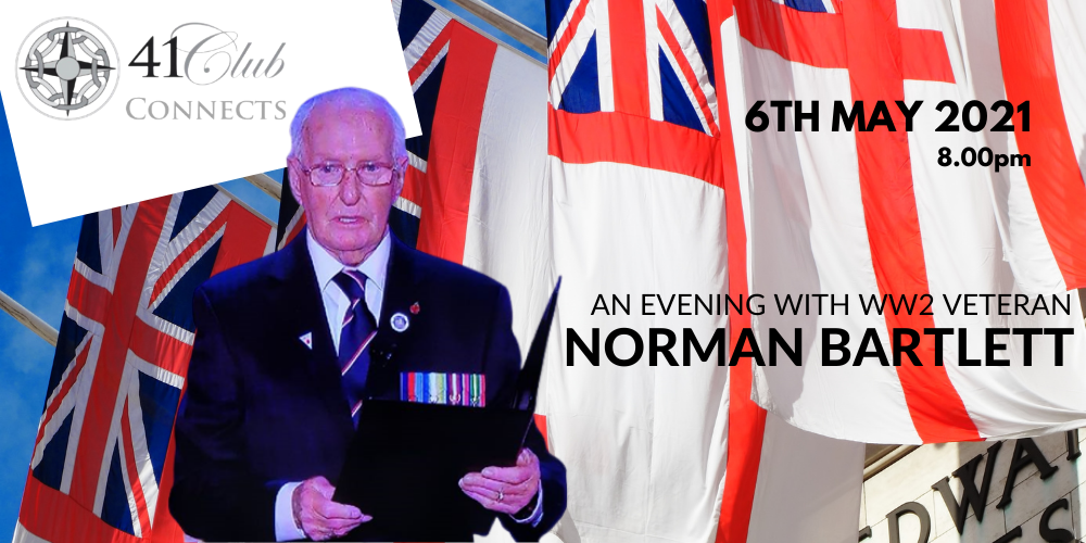 41 Club Connects - with WW2 Veteran Norman Bartlett