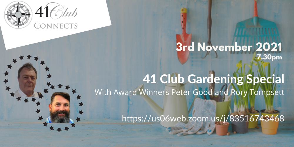 _41 Club Connects Gardening Special