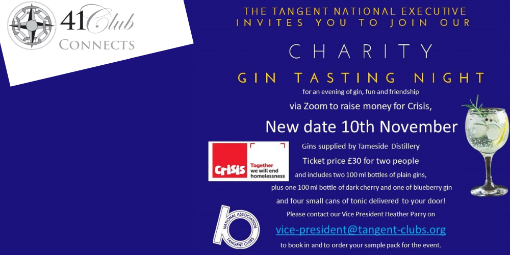 41 Club Connects with the Tangent Gin Tasting (1)